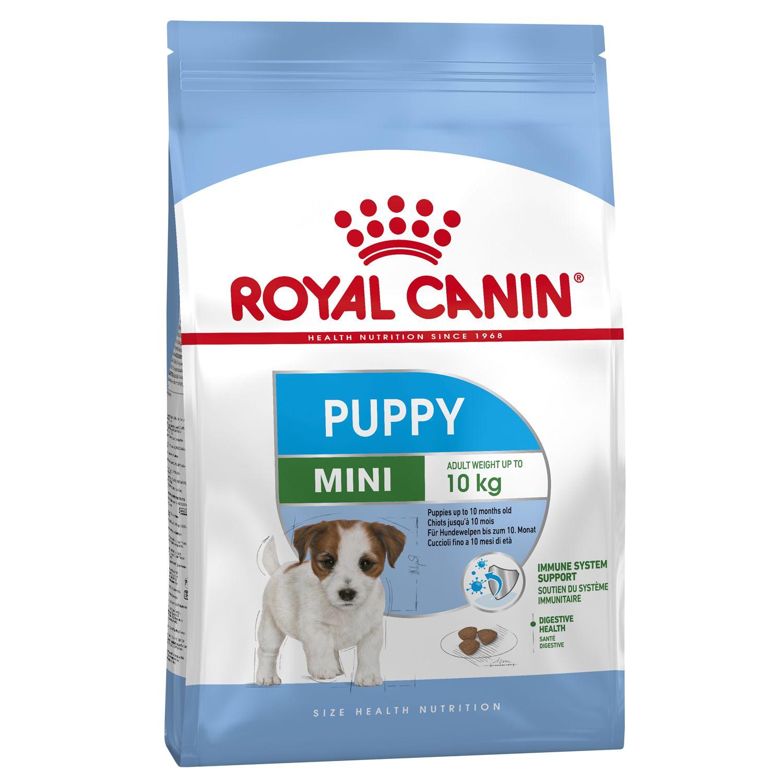 Корм для щенков ROYAL CANIN Size Mini Junior для мелких пород с 2 до 10 месяцев сух. 800г корм для щенков royal canin роял канин junior до 10 месяцев конс 195г