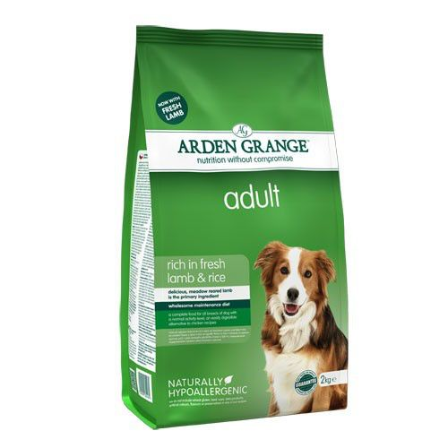 Корм для собак ARDEN GRANGE ягненок, рис сух. 2кг arden grange arden grange puppy large breed