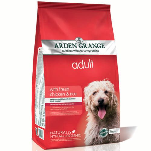 цена на Корм для собак ARDEN GRANGE курица, рис сух. 12кг