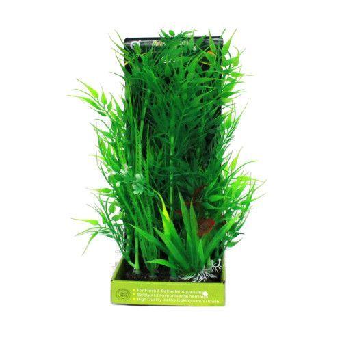 цена на Искусственное растение МЕЙДЖИНГ АКВАРИУМ 28см, в картонной коробке №12