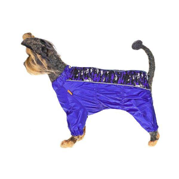 Комбинезон для собак HAPPY PUPPY Мираж мальчик-3 28 лежак для собак happy puppy узоры 3 57х44х15см