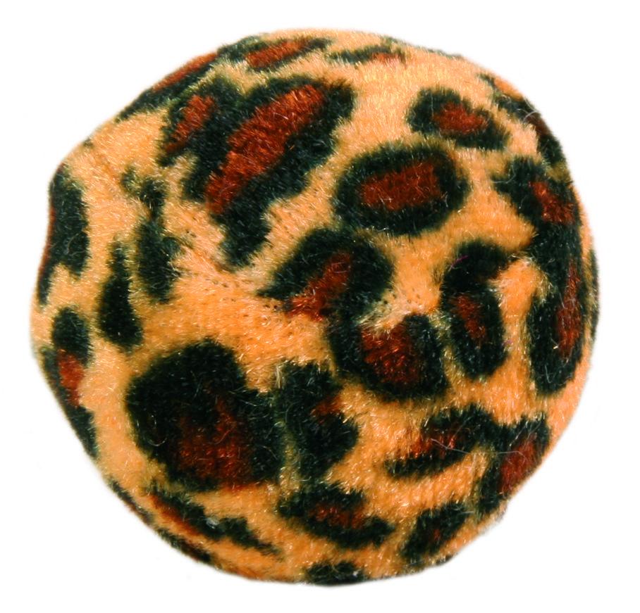 Игрушка для кошек TRIXIE Набор мячиков Леопард, ф 3,5см, 4шт