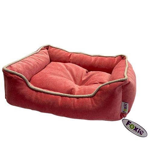Фото - Лежак для животных Foxie Colour 70х60х23см розовый лежак для животных foxie leather 70х60х23см красный