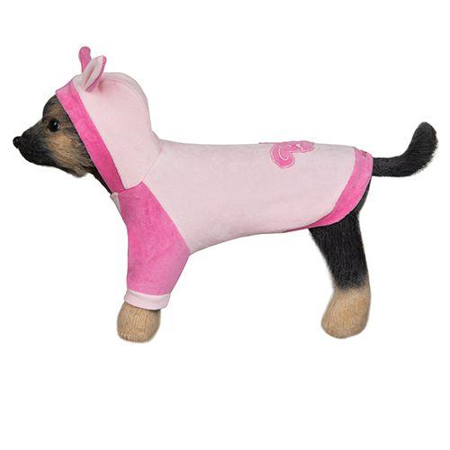 Куртка для собак Dogmoda Зайка-2 24см шлейка жилет для собак dogmoda клетка бордо 2 16см