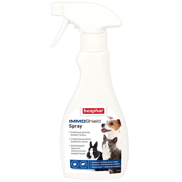 все цены на Спрей Beaphar Immo Shield от паразитов для кошек, собак, грызунов и кроликов 250мл онлайн