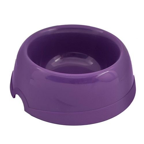 Миска для животных ХОРОШКА пластиковая фиолетовая 100мл