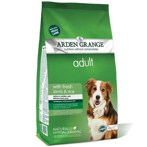 Корм для собак ARDEN GRANGE ягненок, рис сух. 6кг корм для собак arden grange