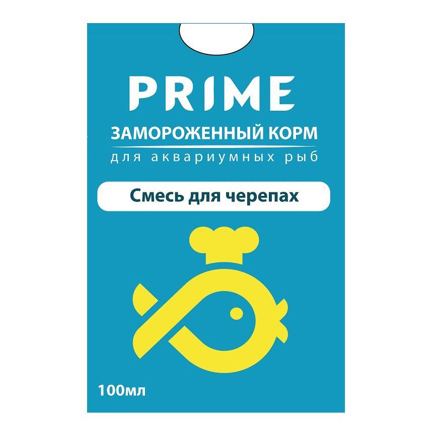 Корм для рыб PRIME Смесь для черепах в блистере 100мл
