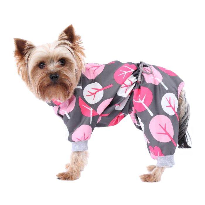 Комбинезон для собак YORIKI Деревья девочка размер S 20см цены онлайн