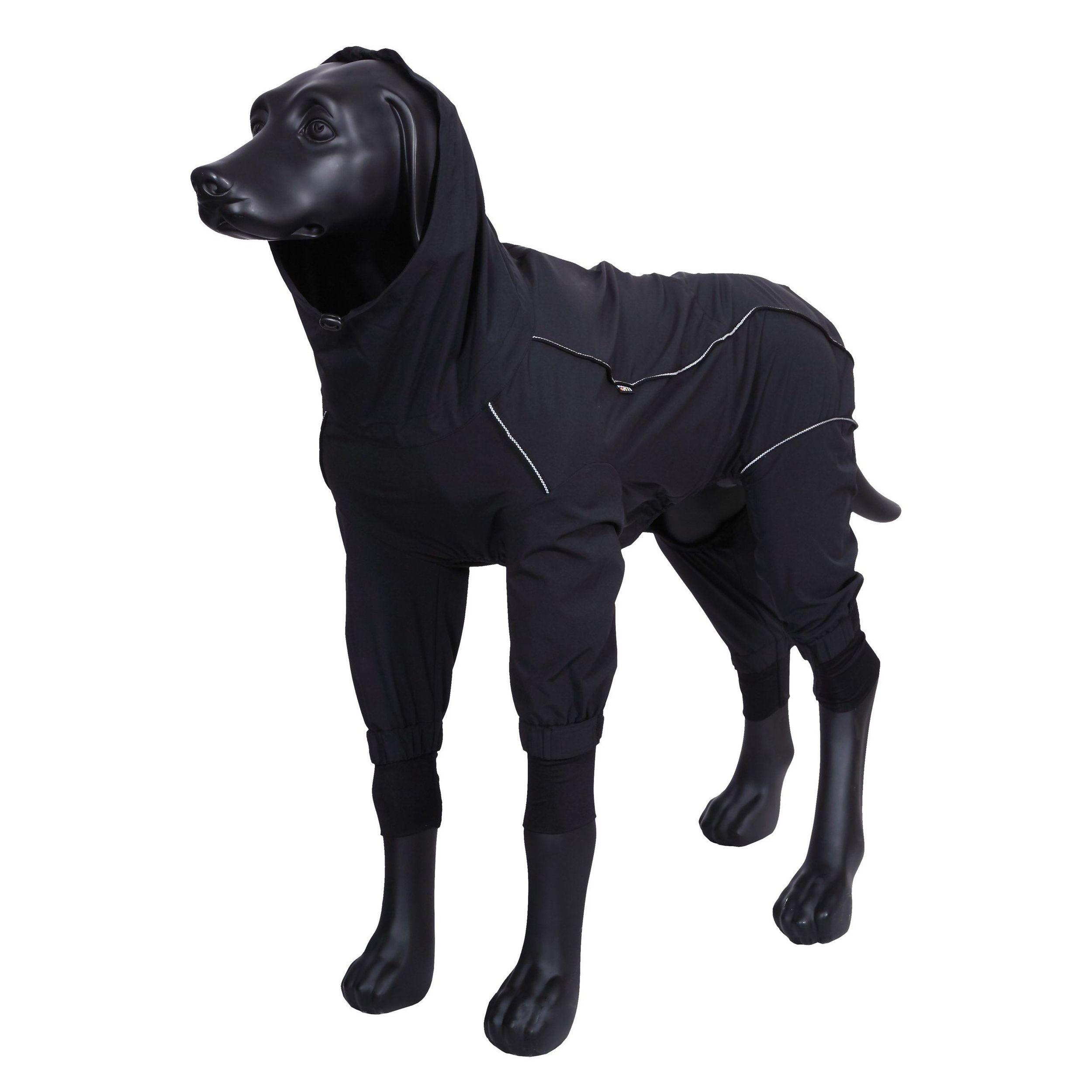 Комбинезон для собак RUKKA Protect overall 2.0 55см черный