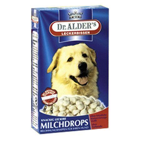 молочные смеси Лакомство для собак Dr. ALDER`s MilhDrops Молочные 250г