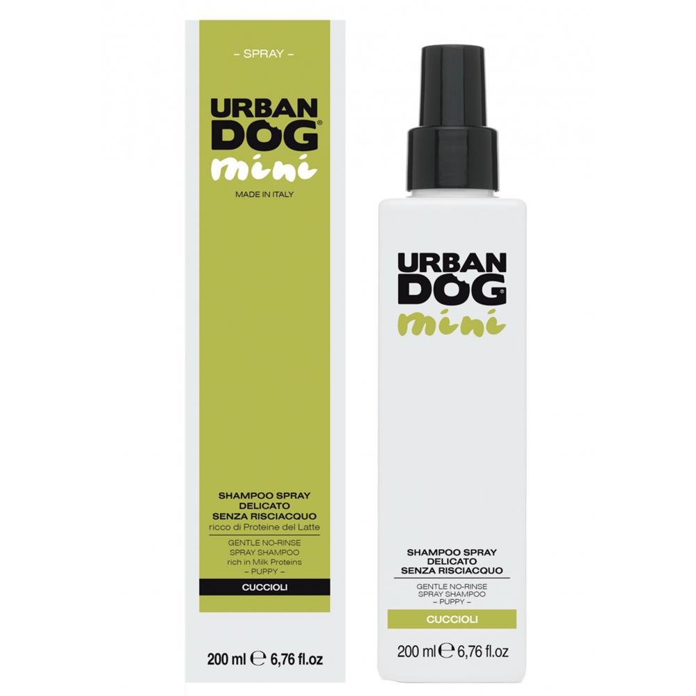 Шампунь-спрей URBAN DOG без смывания, Short Hair 200мл