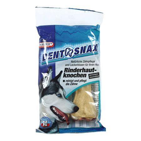 цены на Лакомство для собак Dr. ALDER`s Dento Snax Косточки для профилактики зубного камня Салями 2шт  в интернет-магазинах