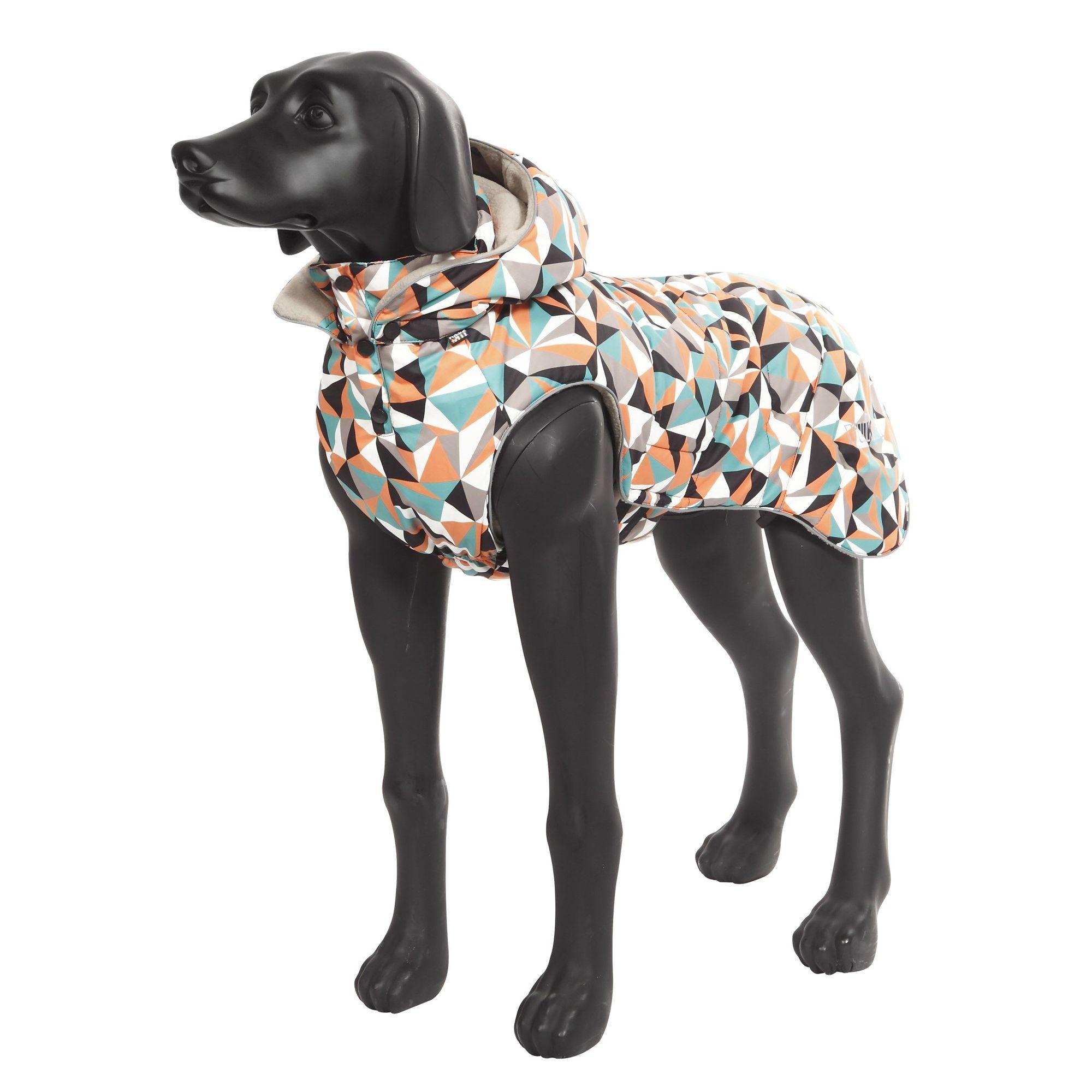 Куртка для собак RUKKA Blizzard Jacket с капюшоном утеплённая 55см Diamond ostin утеплённая куртка для девочек