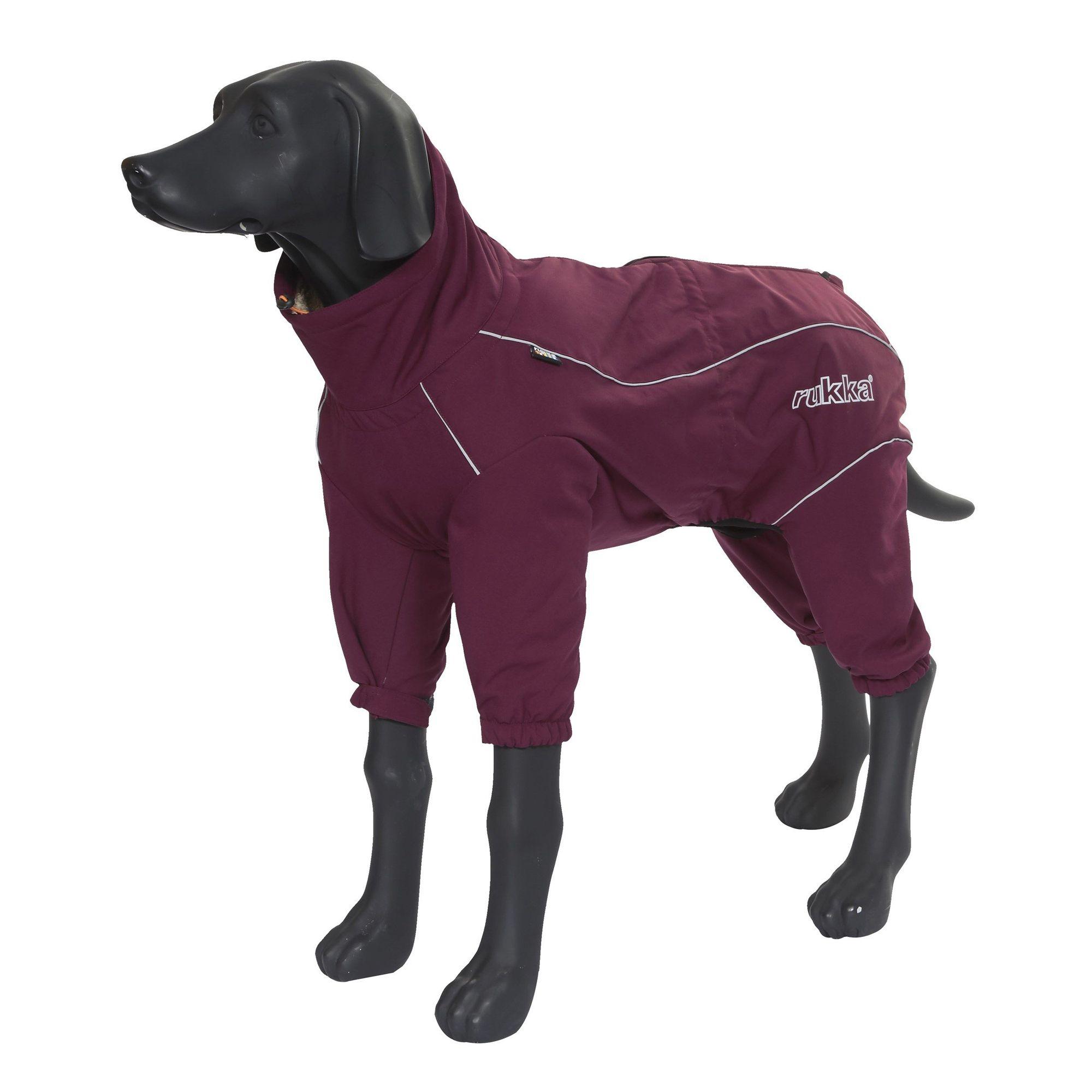 купить Комбинезон для собак RUKKA Thermal Overall бордовый 30см зимний по цене 2490 рублей