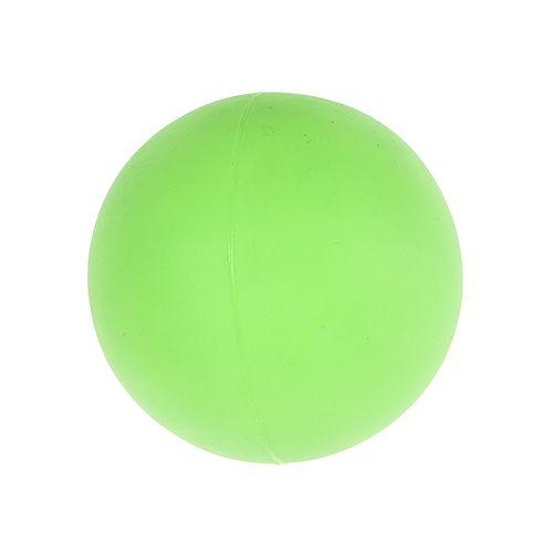 Игрушка для собак Foxie Мяч светящийся в темноте 6,5см винил зеленый deweyke массаж мяч фасция мяч глубокие мышцы расслабляющий мяч клуб иглоукалывание массаж фитнес мяч зеленый