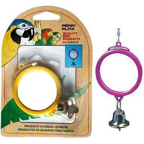 Игрушка для птиц PENN-PLAX ВА510 Зеркало с колокольчиком грот для аквариумов penn plax китовая акула судьба 5х5 5х7см