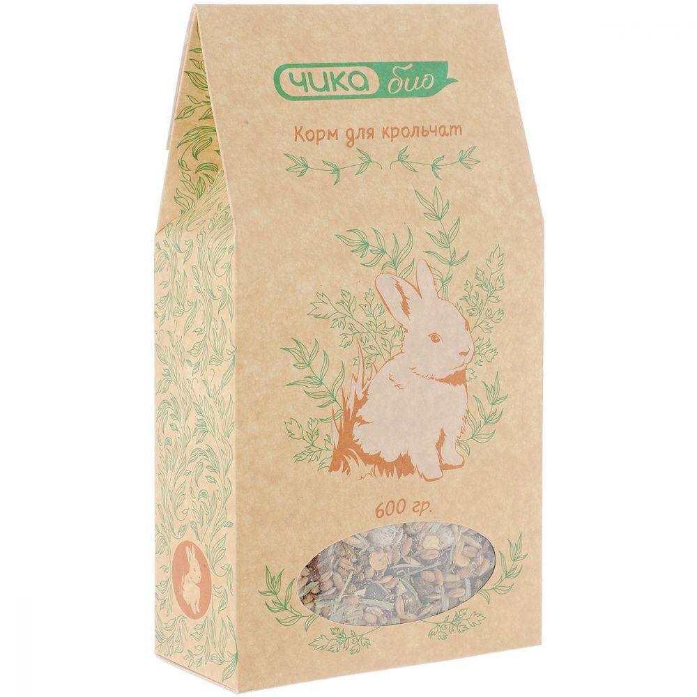 Фото - Корм для крольчат ЧИКА БИО Смесь сух. 600г корм для грызунов vitakraft для дегу сух 600г