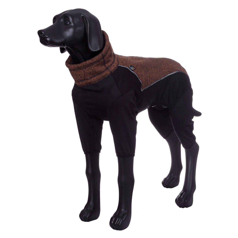 Комбинезон для собак RUKKA Subrima зимний 40см коричневый цены онлайн