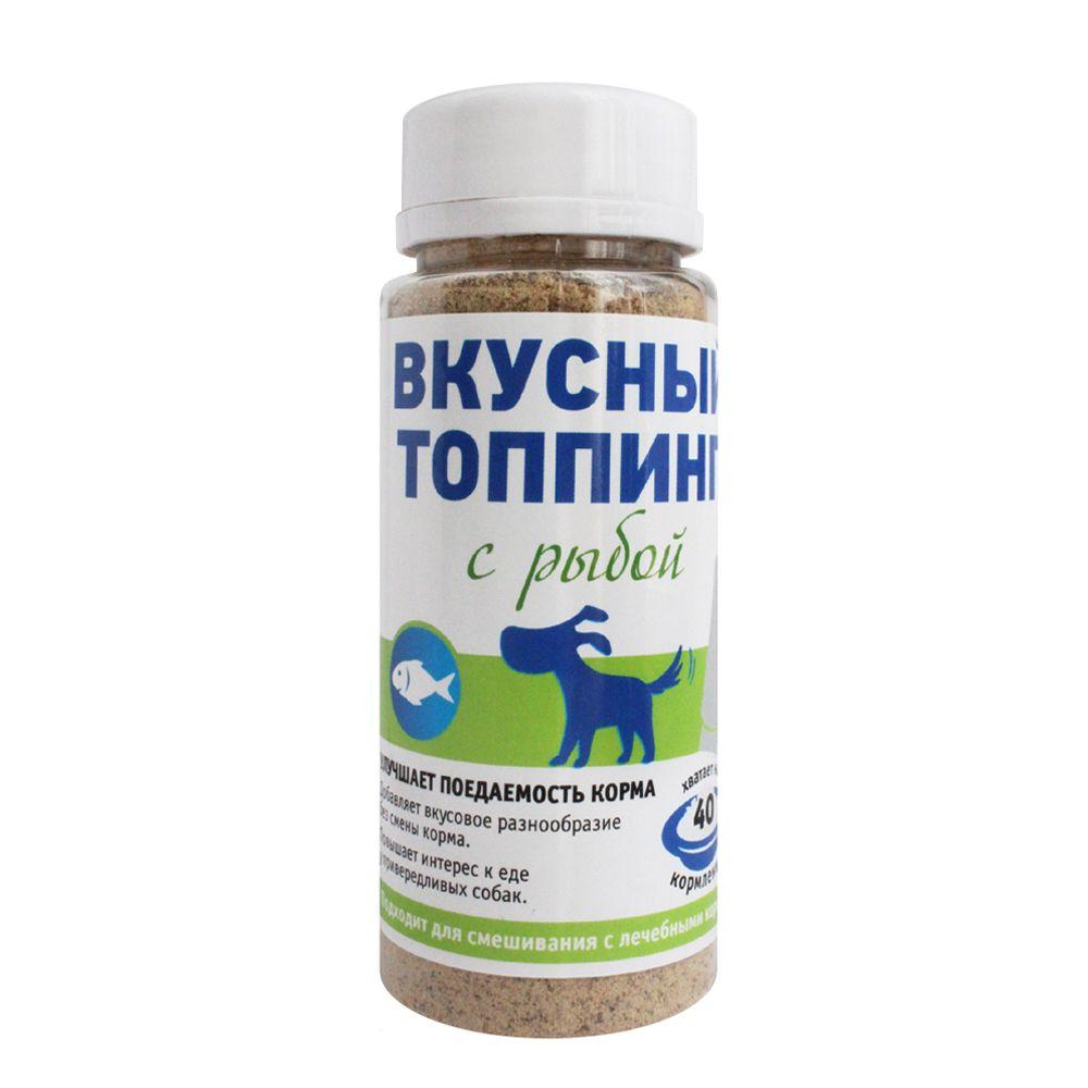 Вкусный топпинг ПРОФБАЛАНС для собак со вкусом рыбы 60г