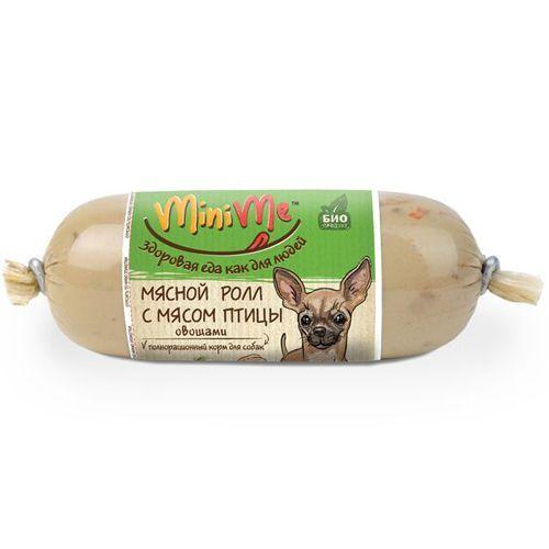 Корм для собак Minime Роллы с курицей конс. 160г