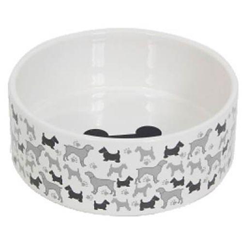 Миска для животных MAJOR Funny dogs керамика, 1470мл миска для животных nobby 37311 0 125л керамика зеленая