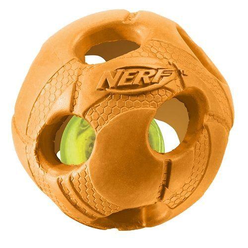 Игрушка для собак NERF Мяч светящийся 9см цена и фото