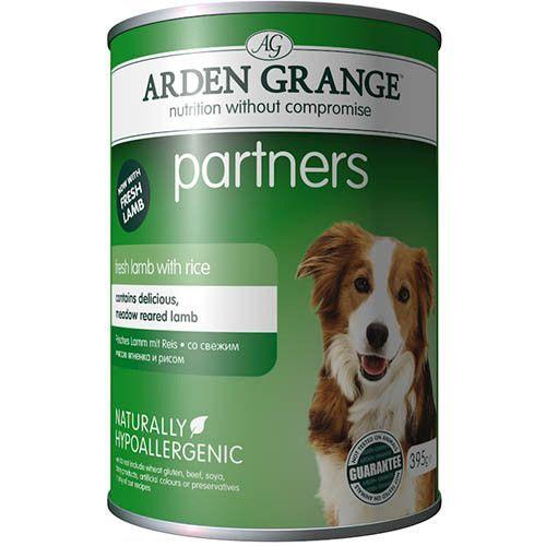 Корм для собак ARDEN GRANGE Ягненок, рис конс. 395г корм для собак arden grange