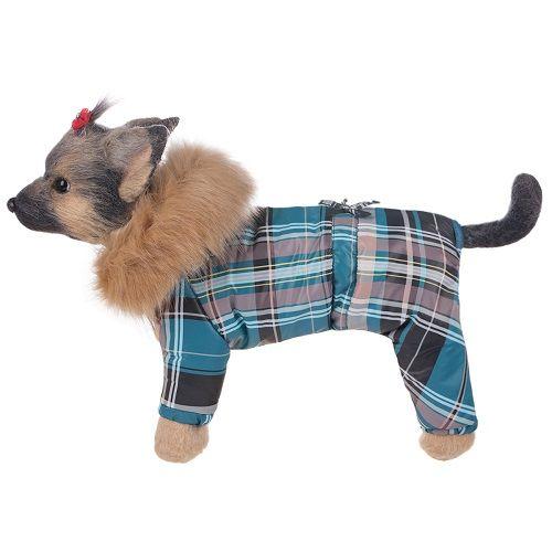 Комбинезон для собак Dogmoda Winter зимний мальчик, размер 2 24см комбинезон для собак dogmoda сова унисекс цвет оранжевый бежевый размер 2 m