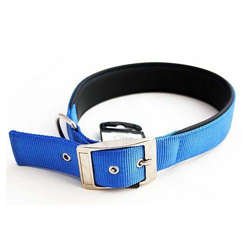 цена на Ошейник для собак FERPLAST DAYTONA C25/53 нейлон, синий