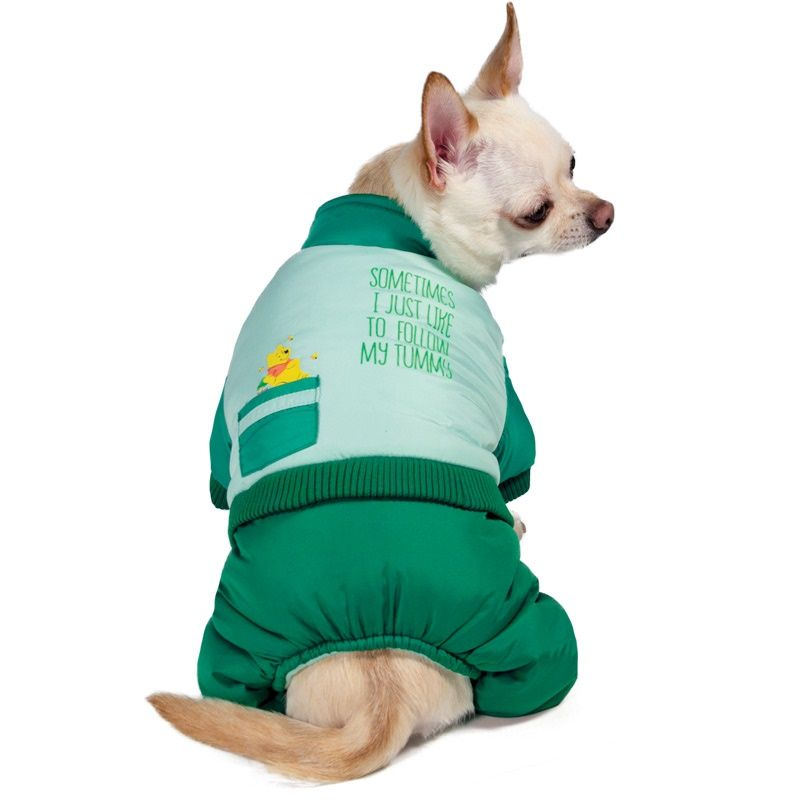 Комбинезон для собак TRIOL Disney Winnie-the-Pooh зимний Green M, размер 30см winnie the pooh day of sweet surprises cd