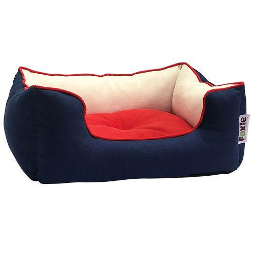 Лежак для животных Foxie Colour 70x60x23см синий