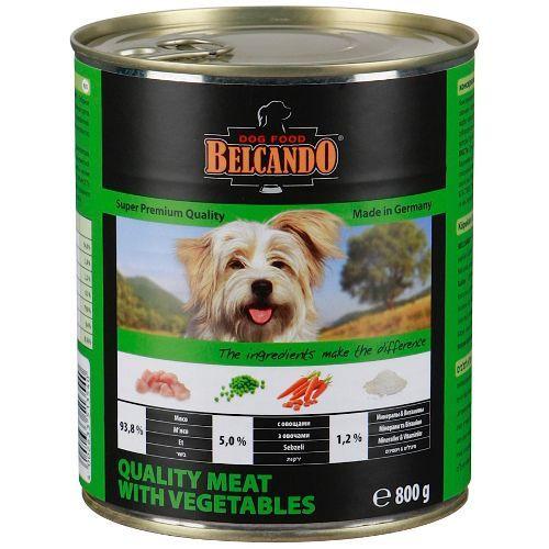 Корм для собак Belcando Мясо, овощи конс. 800г