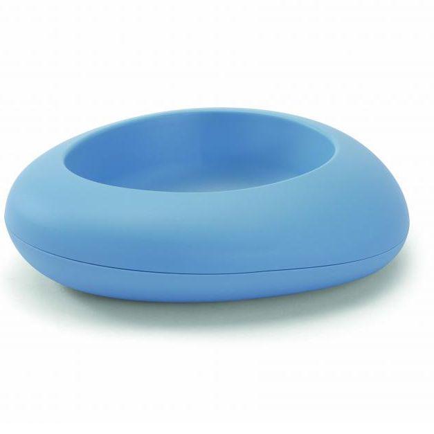 Миска для собак IMAC Ciottoli голубая S03 20х17х5,5см 300мл