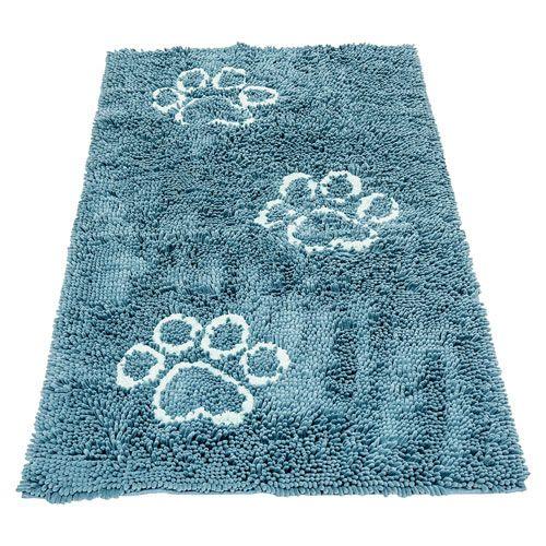 Коврик для собак Dog Gone Smart супервпитывающий Doormat L, 66х89см, цвет морской волны цена