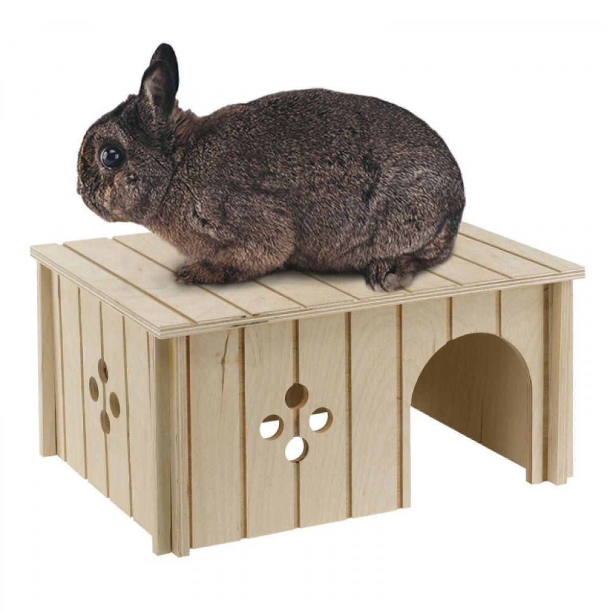 Домик для грызунов FERPLAST SIN 4646 деревянный 33x23,6x16см домик для грызунов ferplast sin 4646 деревянный 33x23 6x16см