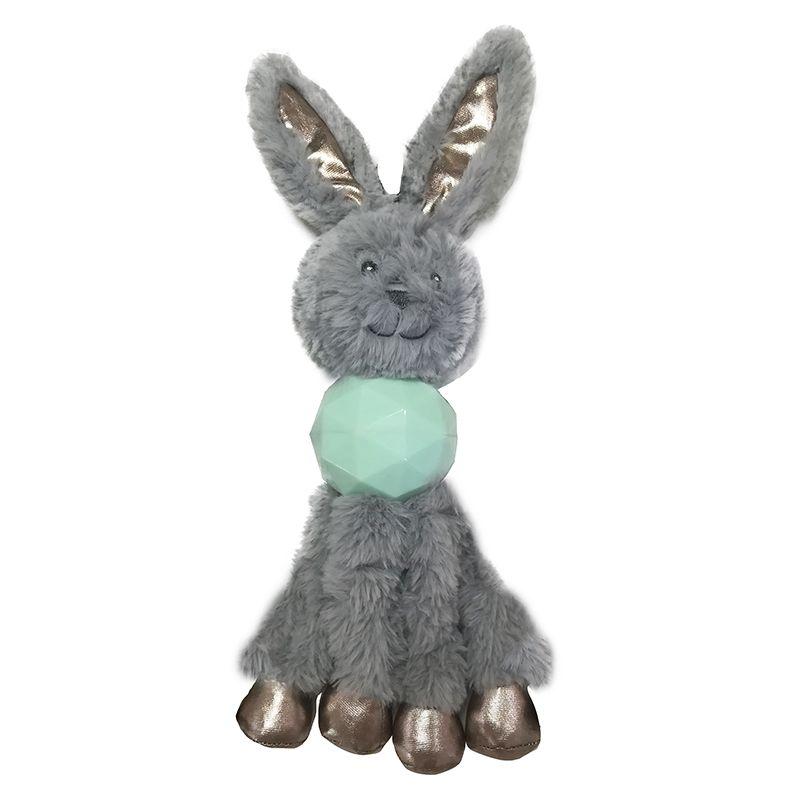 Игрушка для собак CHOMPER Enchanted Forest Кролик с длинными лапами и пищалкой плюш 34см