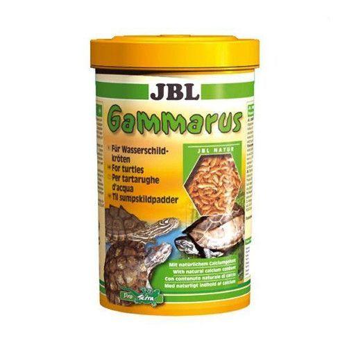 Корм-лакомство для черепах JBL Gammarus для водн.черепах,очищенный гаммарус спец.упак 750мл(80г)