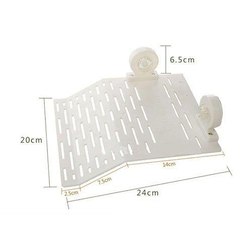 Плотик для черепах МЕЙДЖИНГ АКВАРИУМ пластиковый на присоске, 23,5х20см цена