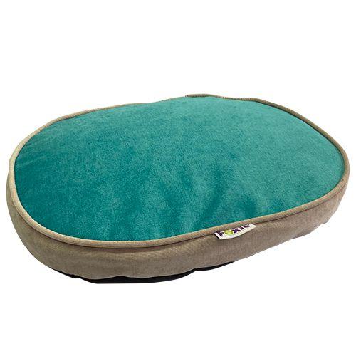 Матрас для животных Foxie Colour 70х50см овальный бирюзовый