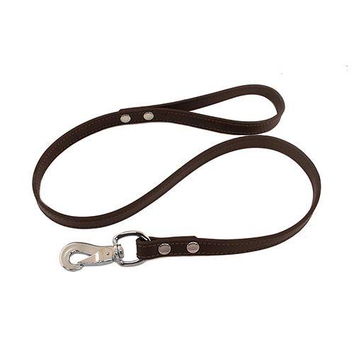 Поводок для собак ДАРЭЛЛ простой 20 мм Стандарт 2 слоя «Бюргер» (шведский карабин) 1,2м