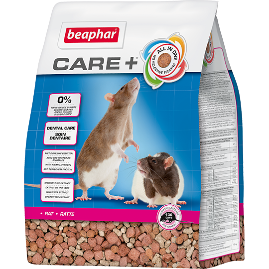 Корм для грызунов Beaphar Care+ для крыс 1,5кг