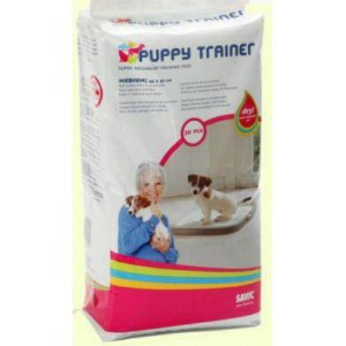 Пеленки для щенков крупных пород SAVIC Puppy Trainer впитывающие, 30шт