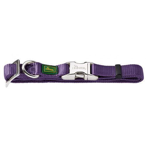 Ошейник для собак HUNTER ALU-Strong L фиолетовый нейлон 25см