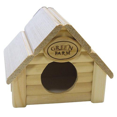 Дом для грызунов GREEN FARM Изба для мелких грызунов И-221 цена