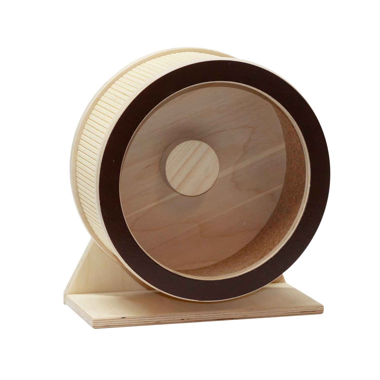 Колесо для грызунов DoradoWooD деревянное 30 см