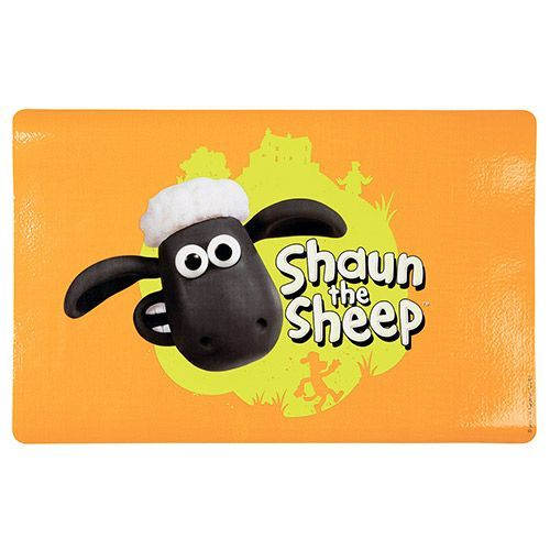 Коврик под миску TRIXIE Shaun the sheep оранжевый 44х28см