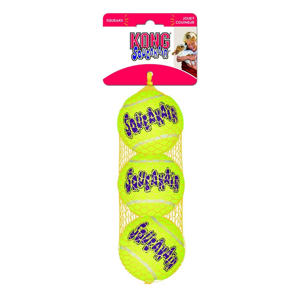 Игрушка для собак KONG Air Теннисный мяч, маленький недорого