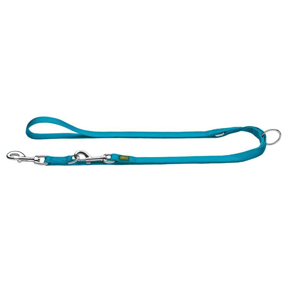 Поводок-перестежка для собак HUNTER 15/200 нейлон бирюзовый