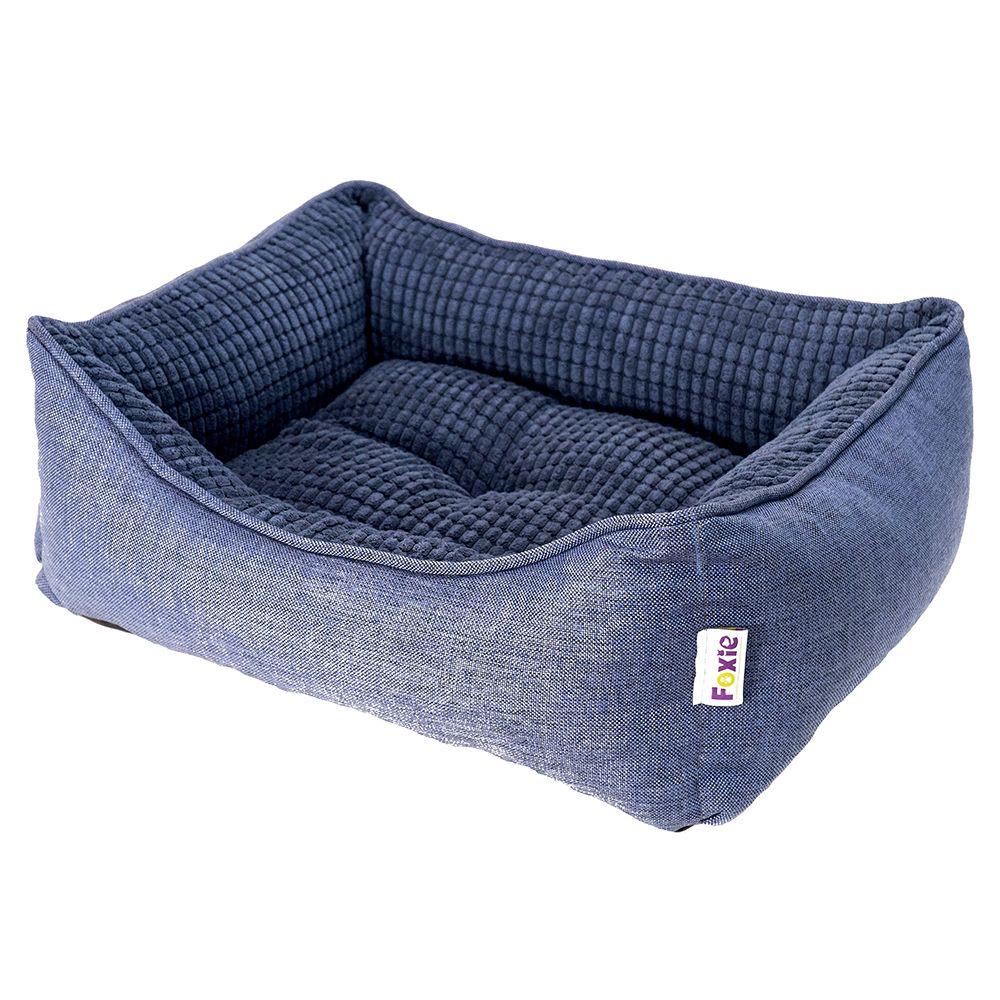 Фото - Лежак для животных Foxie Colour 70х60х23см синий лежак для животных foxie leather 70х60х23см красный